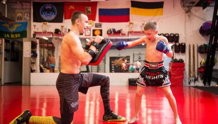 Тайский бокс для детей в СПБ